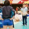 ≪女子バレー≫NEC対岡山 1(試合前の緊張感)