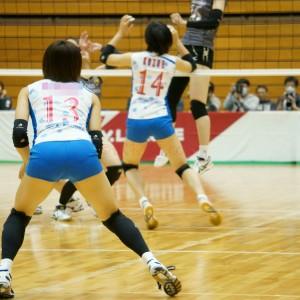 ≪女子バレー≫KUROBE対GSS 8