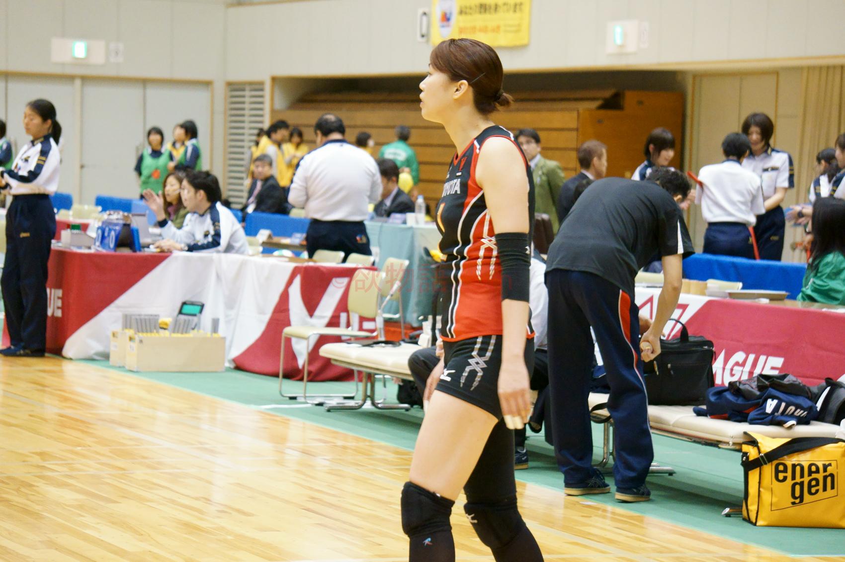≪女子バレー≫トヨタ対熊本 3