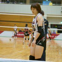 ≪女子バレー≫トヨタ対熊本 5