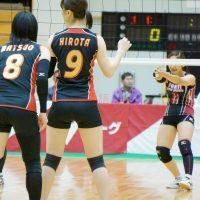 ≪女子バレー≫トヨタ対熊本 6
