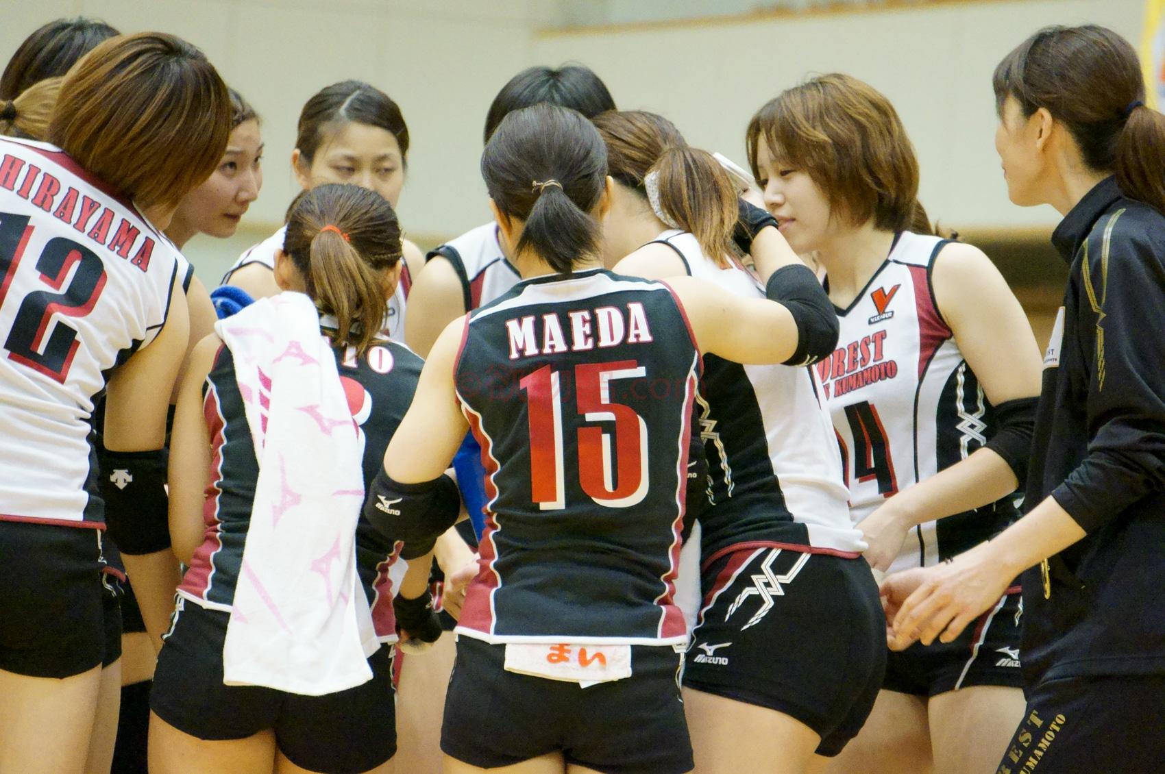 ≪女子バレー≫トヨタ対熊本 9