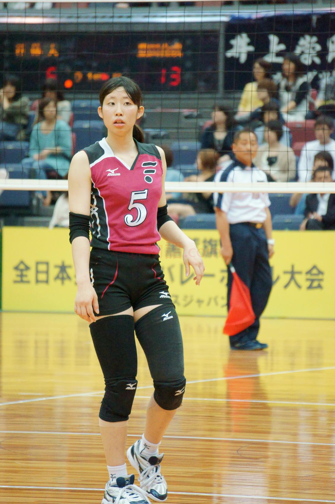 ≪女子バレー≫福岡大学対上尾 6