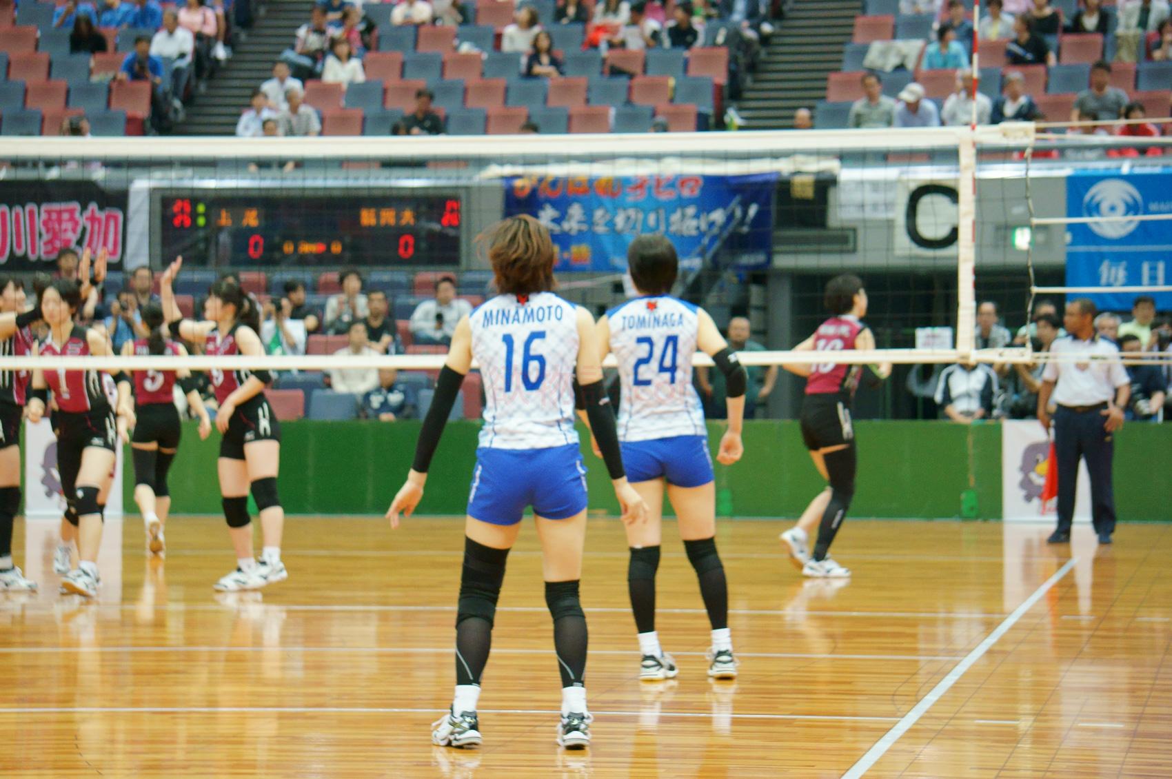 ≪女子バレー≫福岡大学対上尾 5