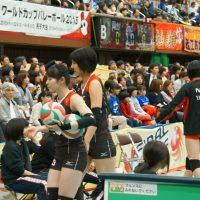 ≪女子バレー≫NEC対岡山 8