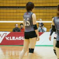 ≪女子バレー≫KUROBE対GSS 12