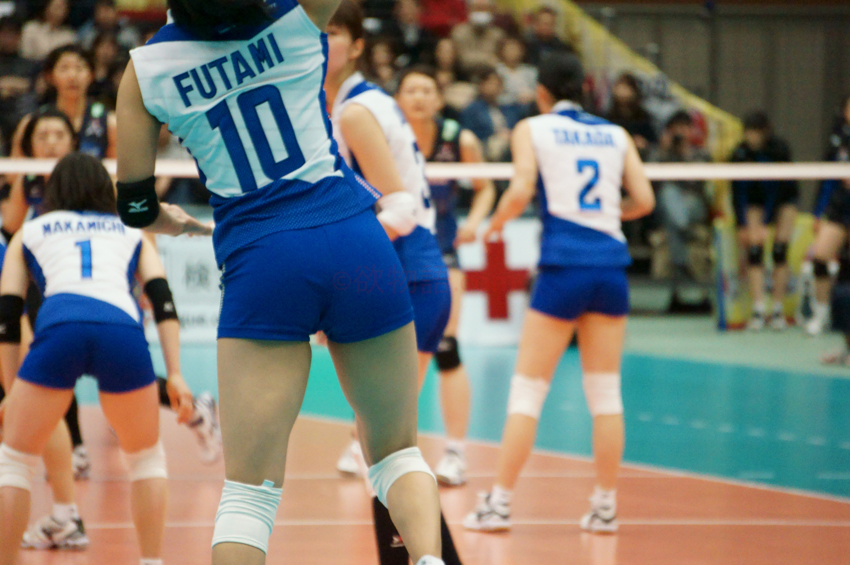≪女子バレー≫東レVS久光 5