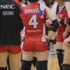 ≪女子バレー≫NEC対デンソー 15