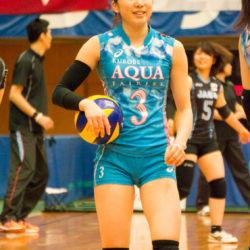 ≪女子バレー≫KUROBE対JA 1
