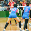 ≪女子バレー≫黒鷲旗(オール日本スター)画像をオムニバスで。9