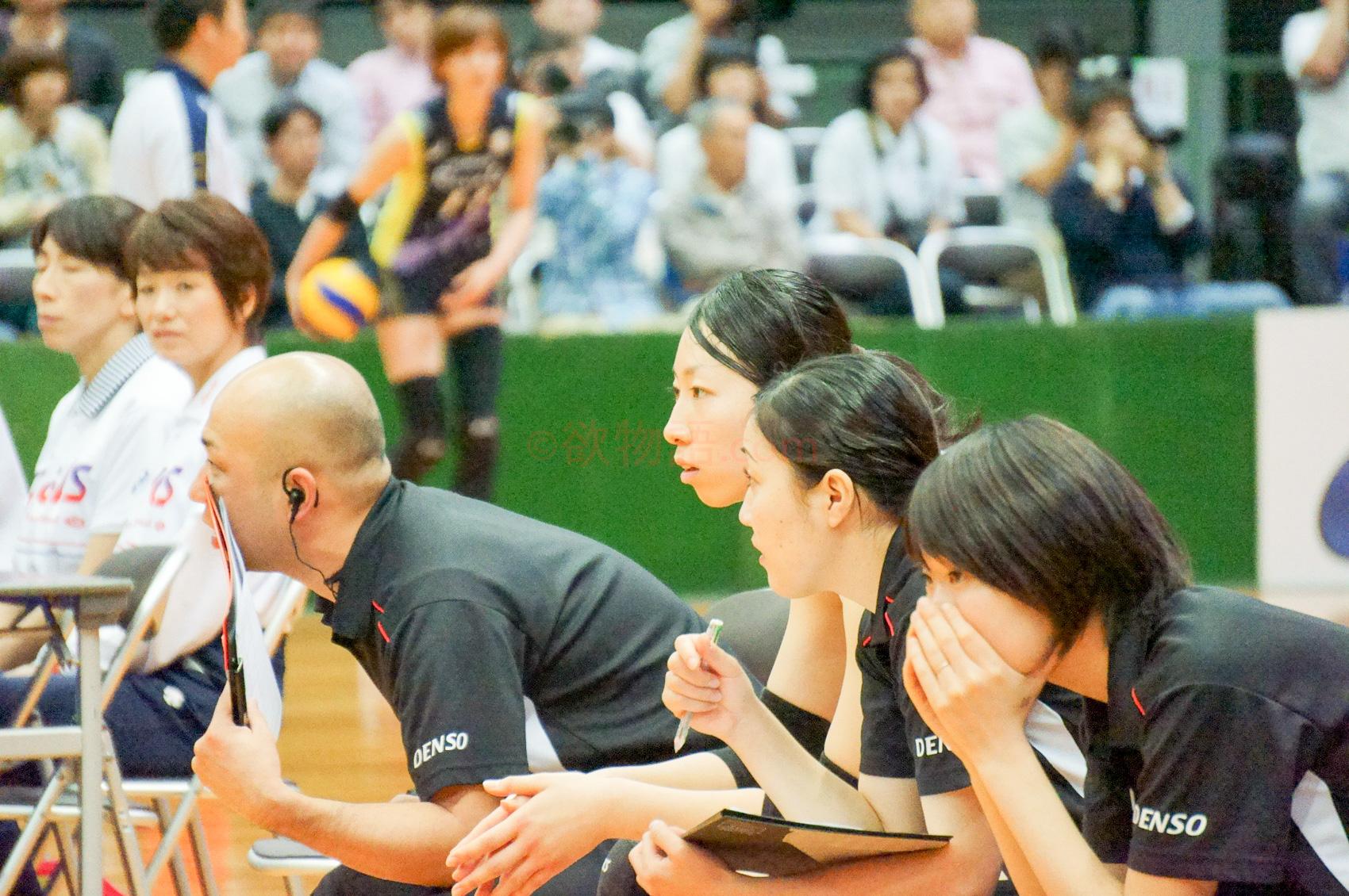 ≪女子バレー≫黒鷲旗(オール日本スター)画像をオムニバスで。11